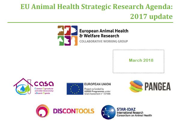 European Animal Health Strategic Research Agenda: 2017 update